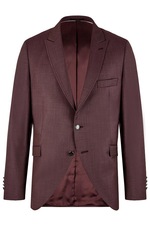 Wilvorst Hochzeitsanzug Sakko Bordeaux rot After Six 401254 10352 054