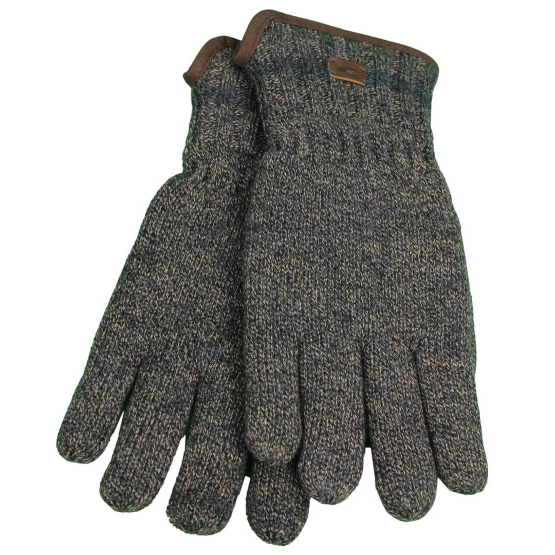 Camel active Herren Handschuhe blau meliert 2G31 408310 18