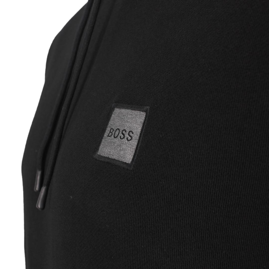 Hugo Boss Kapuzen Pullover 50462776 001 black Wetalk