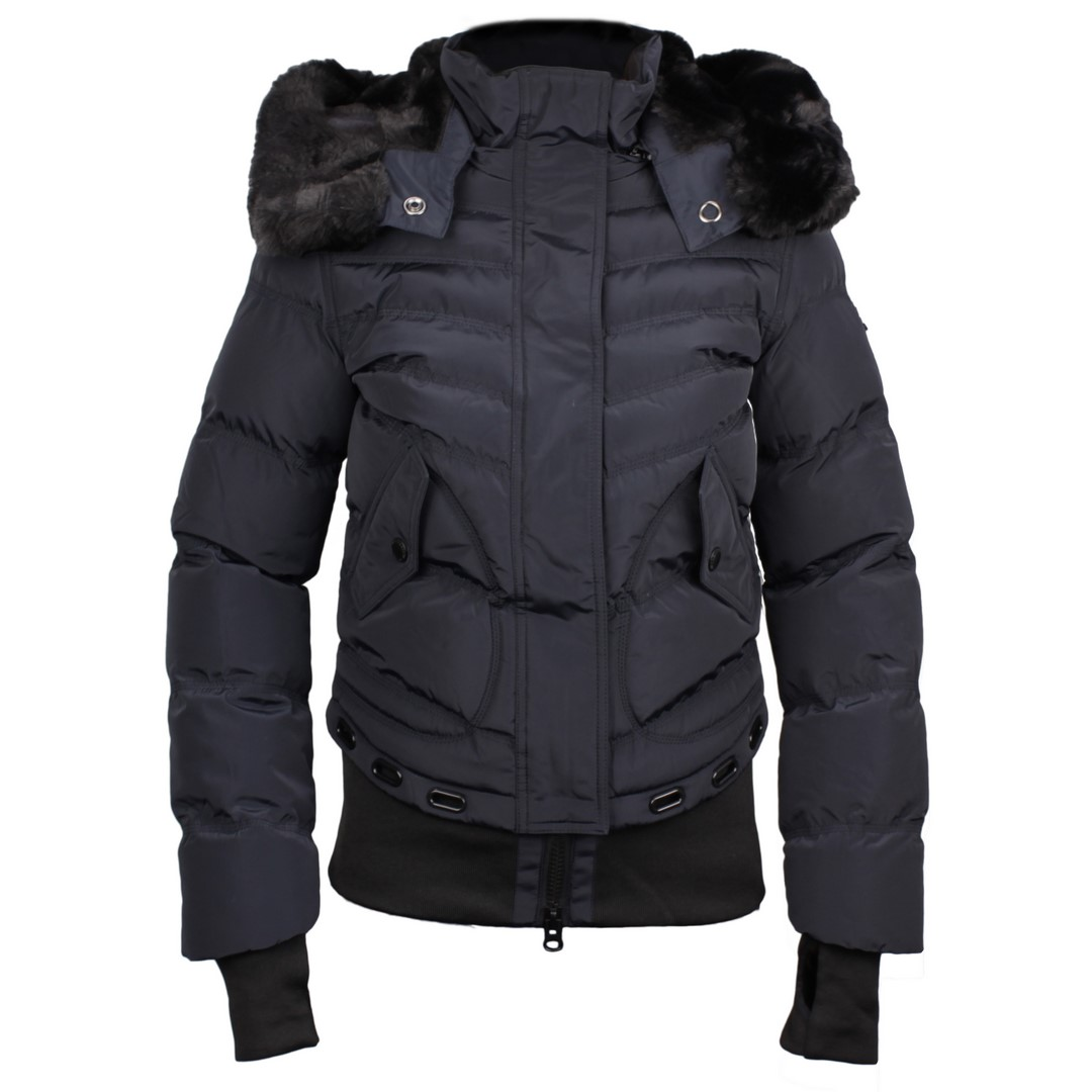 Wellensteyn Damen Winter Jacke Queens marine blau gesteppt QUE 382 midnightblue