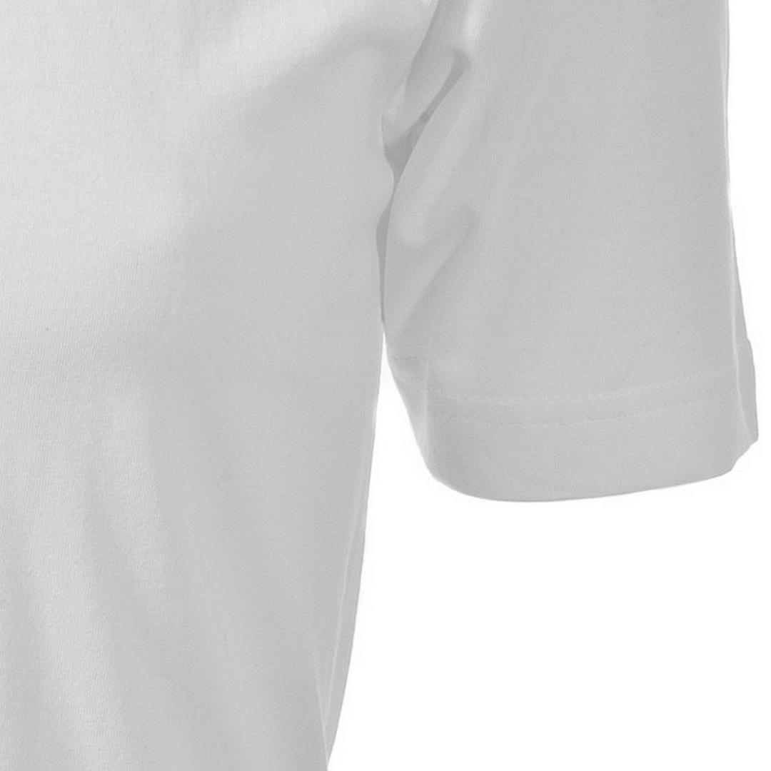 Olymp Herren T-Shirt Shirt kurzarm Doppel Pack V-Ausschnitt weiß Unifarben 0701 12 00