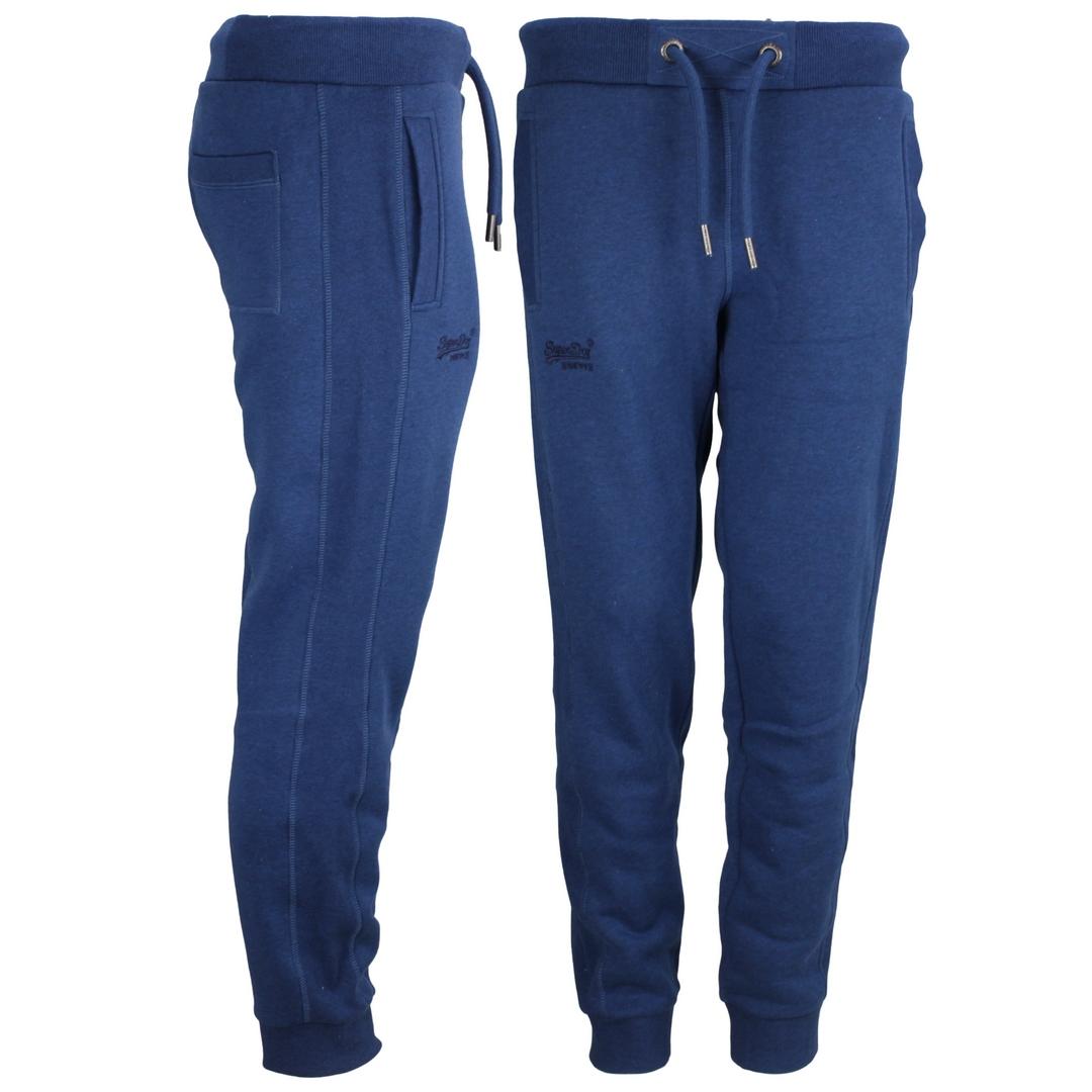 Superdry Sweat Jogging Hose OL Classic Jogger blau M7010512A 5EL dark cobal