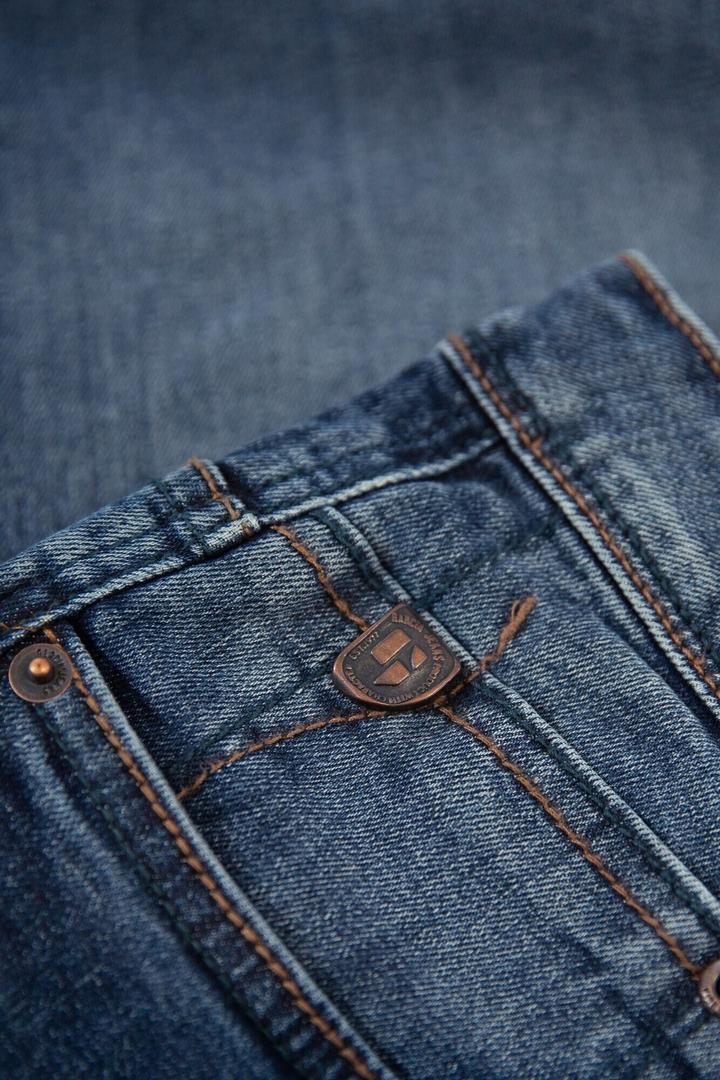 Garcia Jeans Short Russo Regular Acqua Denim Med Used 615 1456