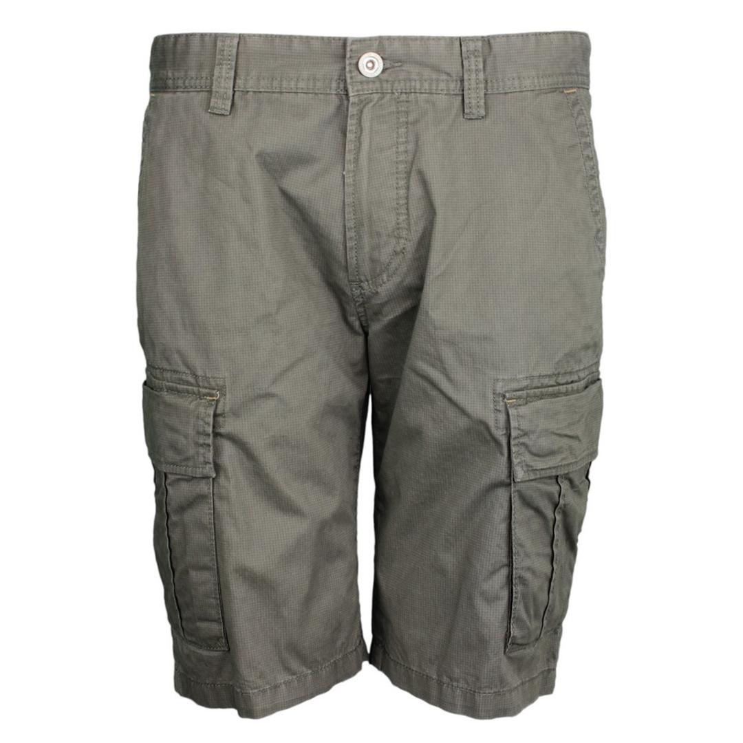 Camel active Herren Cargo Short grün Minimal Muster 1Z83 496530 33