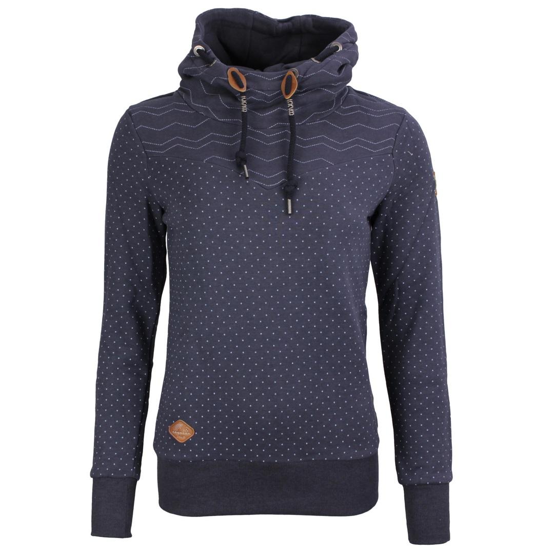 Ragwear Damen Sweat Pullover Kapuzenpullover Hoodie blau Nuggie Sweat 2121 30027 2028 Navy