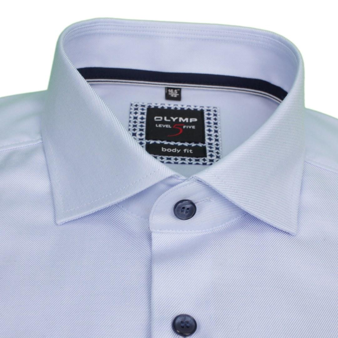Olymp Body Fit Hemd Level 5 Uni blau 211484 12
