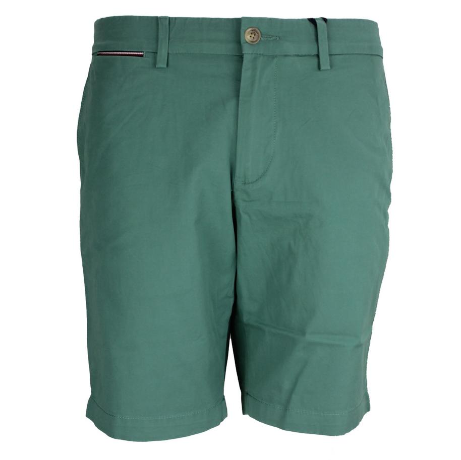 Tommy Hilfiger Herren Chino Brooklyn Short Twill grün MW0MW13536 L5W