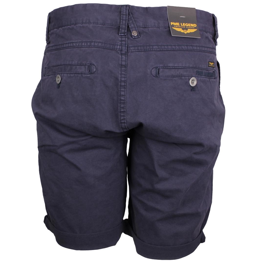 PME Legend Herren Chino Short Cotton Linen Peached blau PSH203670 5287