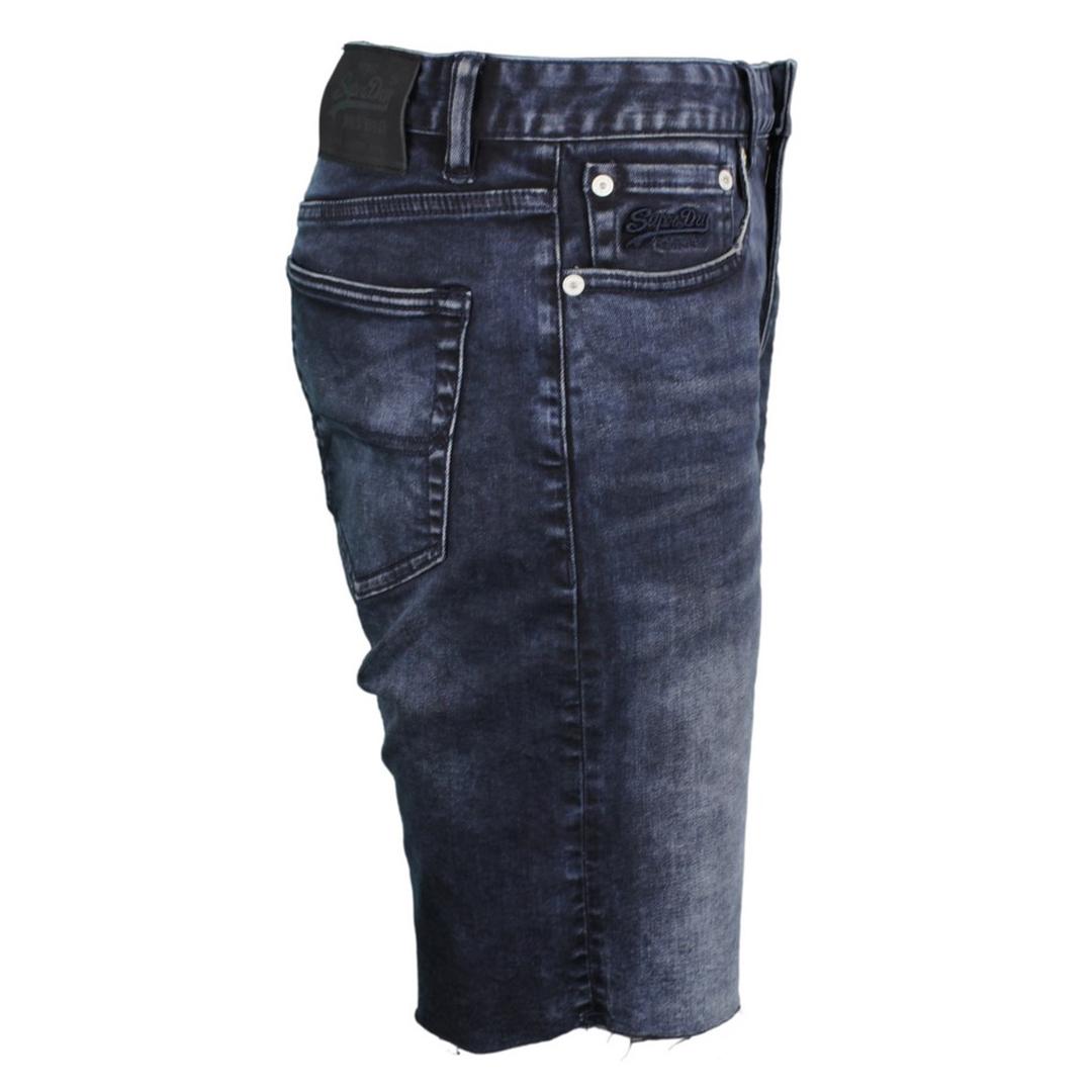Superdry Herren Jeans Short Tyler Slim dunkel blau M71002WT S2B dark denim