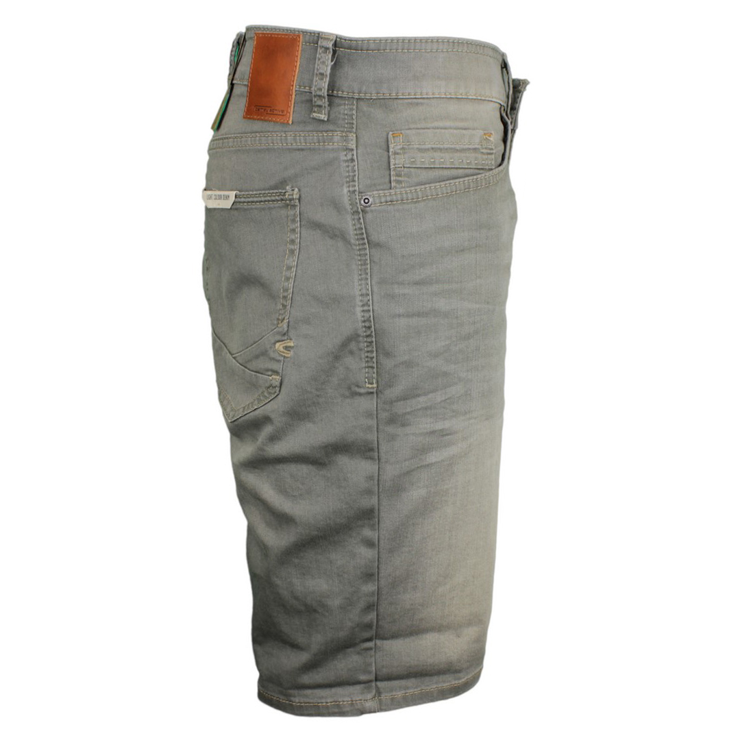 Camel active Herren Jeans Shorts Madison Denim grün 1590 498125 30