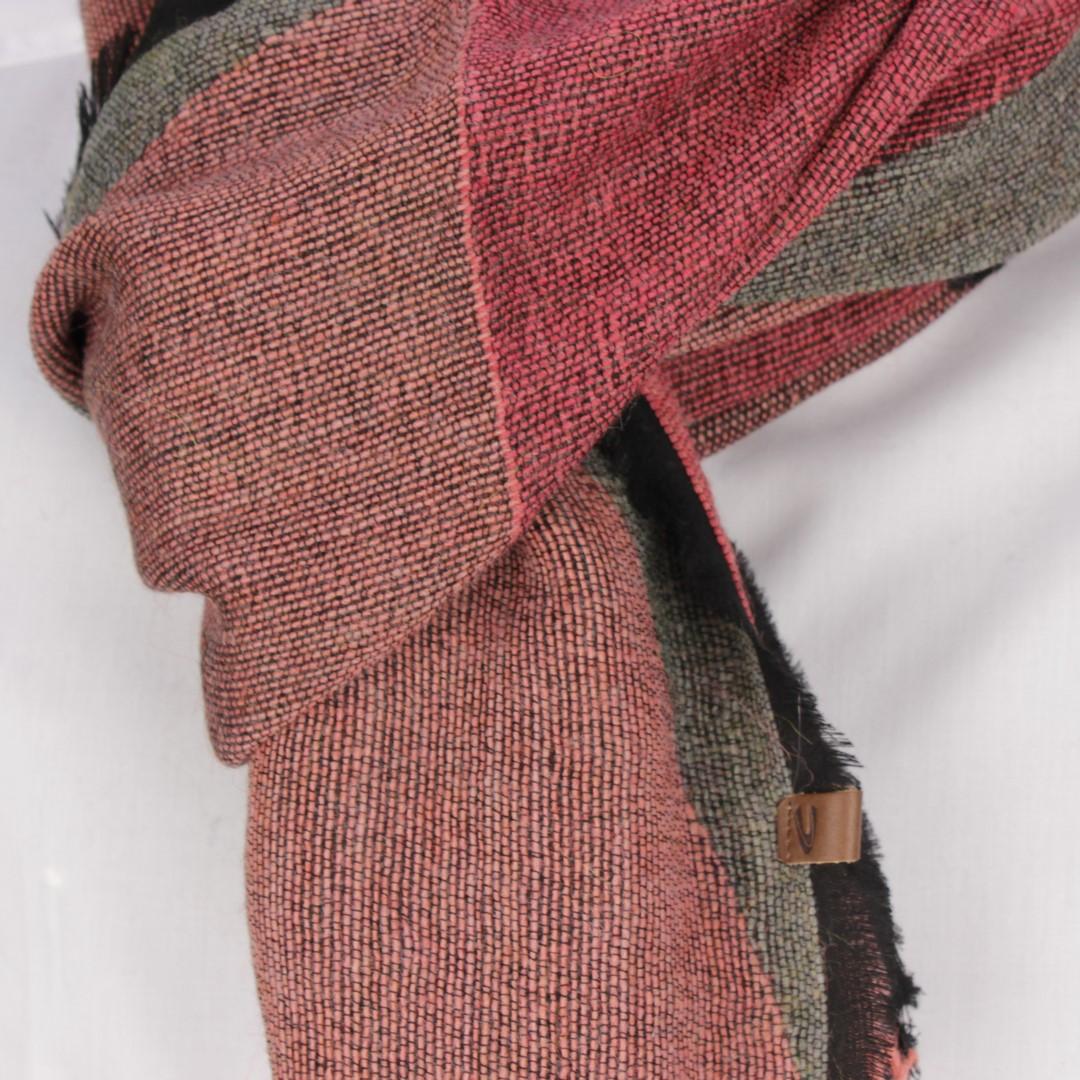 Camel active Damen Strick Schal Tuch rot rosa grau 6V45 307450 04