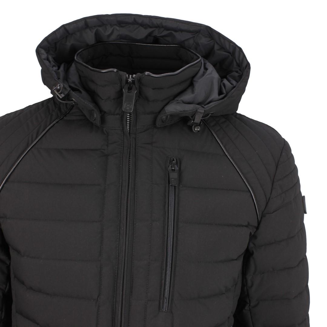Wellensteyn Herren Winter Jacke schwarz Molecule Men Hood MOLH 719 black