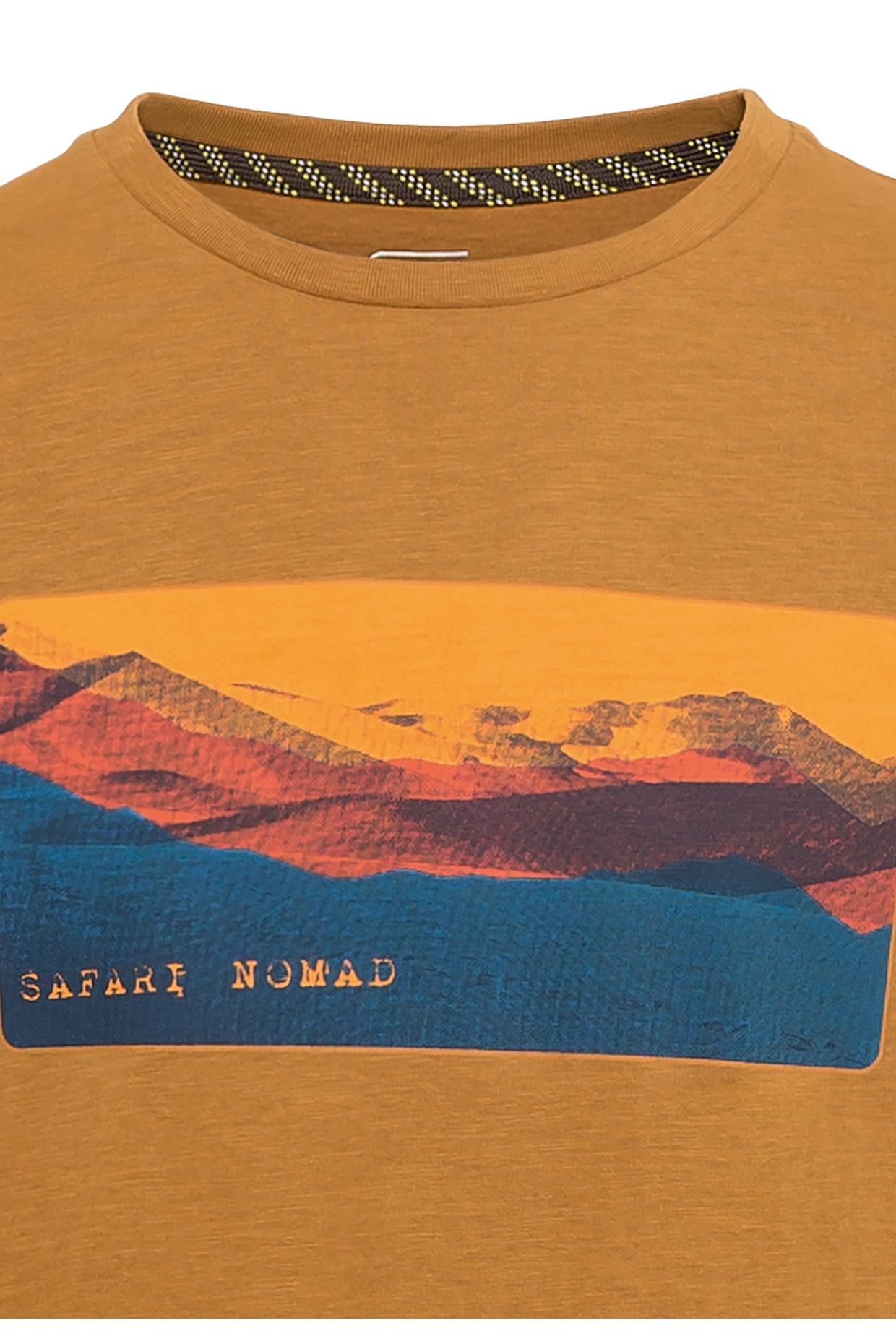 Camel active T-Shirt gelb Print 5T42409642 23