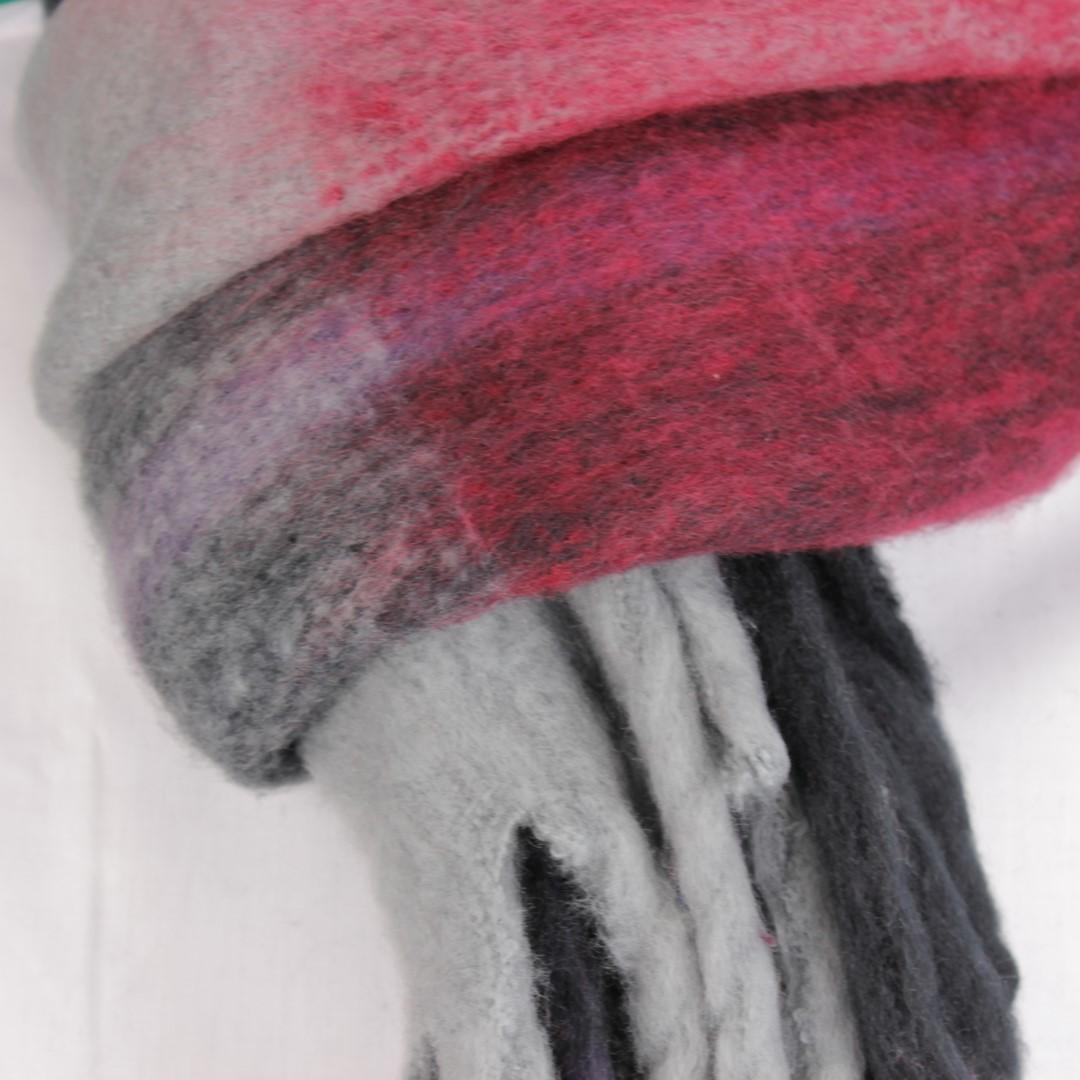 Anerkjendt Winter Schal Mehrfarbig kariert 9518801 grey