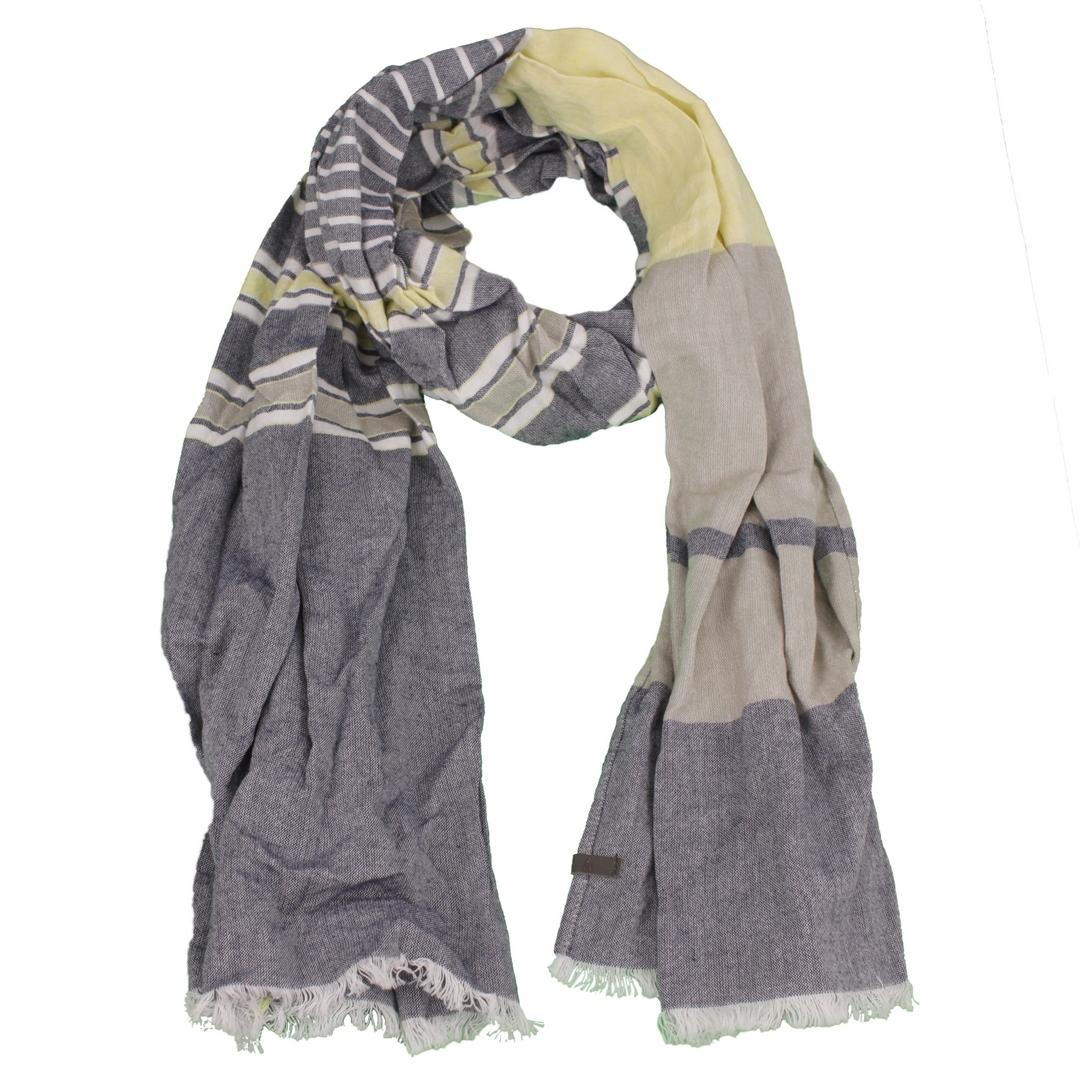 Camel active Schal Tuch mehrfarbig gemustert Doubleface Optik 5V13407130 88