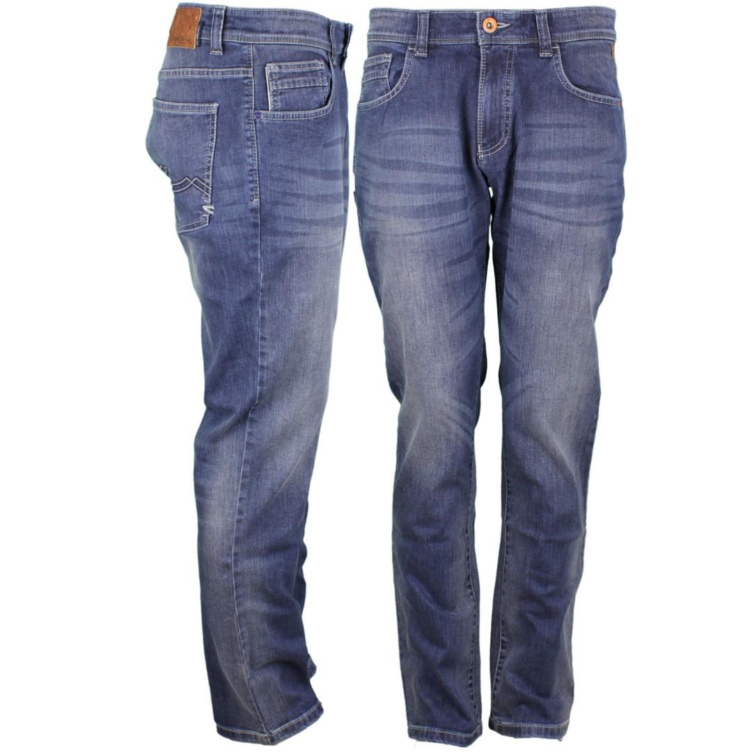 Camel active Herren Jeans Hose Jeanshose Woodstock Straight Fit blau 9435 488465 81