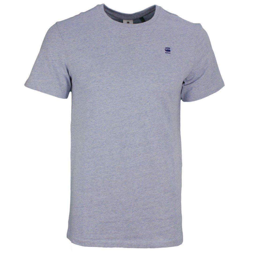 G-Star Raw Herren T-Shirt Base-S blau unifarben D16411 336 2148