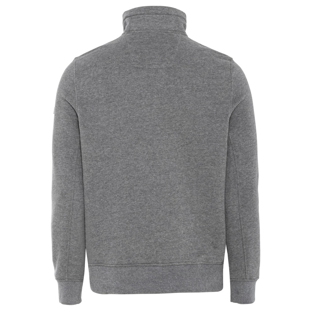 Camel active Herren Sweatshirt grau unifarben 6F14409344 06 Stone Grey